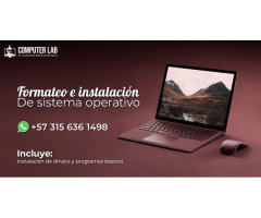 Instalación de Sistema Operativo Windows