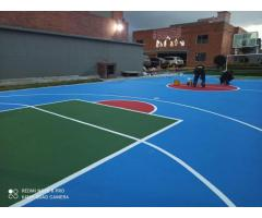RESTAURACION DE CANCHAS MULTIPLES