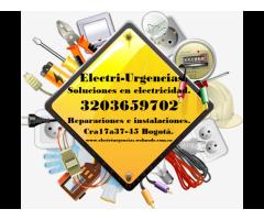 Electricista mantenimientos,el retiro, san patricio, Santa Bibiana,Navarra,Santa paula, La carolina