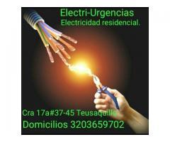Apagones,cortos, electricista,Santa bárbara, la calleja, cedritos, La cabrera, La calera, Unicentro.