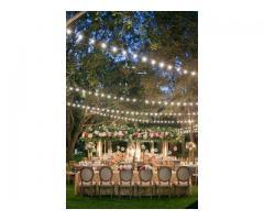 alquiler de luces de feria para bodas y eventos en cartagena
