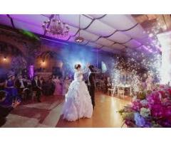 volcanes de chispa para bodas y eventos en cartagena