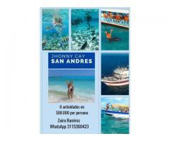 Tours en San Andrés, Islas