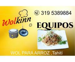 equipo para restaurante wolkinn turbo gas