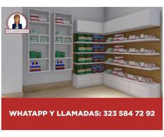 mobiliario, armario, dispensador  de medicamentos