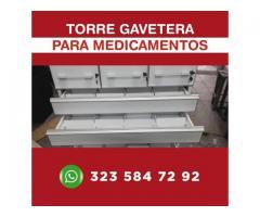 torre para guardar antibioticos e insumos