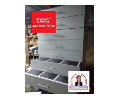 Cajoneras almacenamientos, para insumos de salud