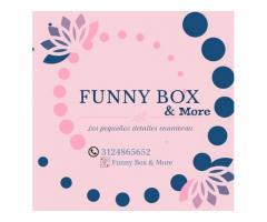 Cajitas y desayunos sorpresa funny box & more