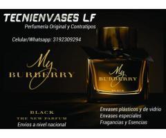 Perfumes y envases a precios increibles