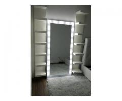 espejo de luces