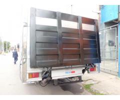 plataforma para camion de carga y descarga