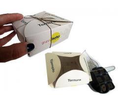 Kit mini huerta en caja de regalo personalizada.  Producto para campañas de Merchandising.