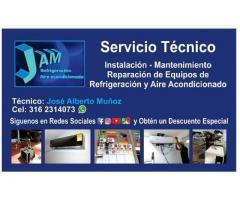 reparacion ,instalacion aire acondicionado