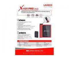 Escaner Automotriz Launch X431 Pro 4.0 Car Test Colombia