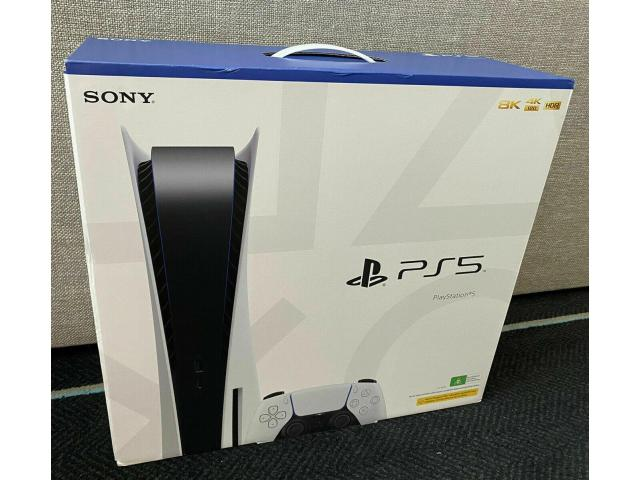 Sony PlayStation 5 Console Disc Version