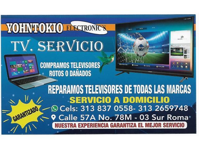 Reparación  de televisores Kennedy Roma Bosa Reparamos televisores de todas las referencias lcd